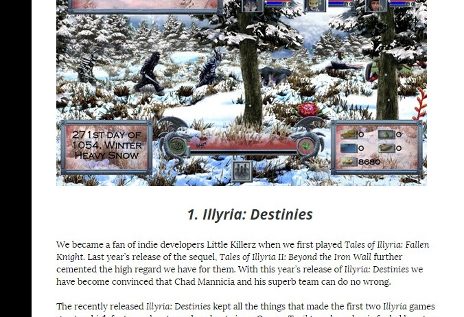 Illyria Destinies