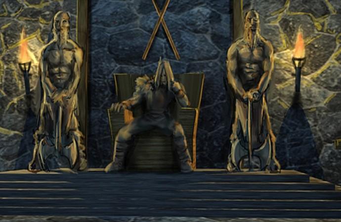The Kourmar Throne