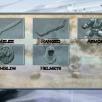 Tales of Illyria equipment menu
