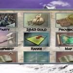 Tales of Illyria in-game menu